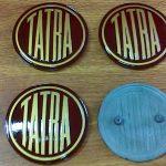 TATRA 700 – znak čelní a zadní kapoty