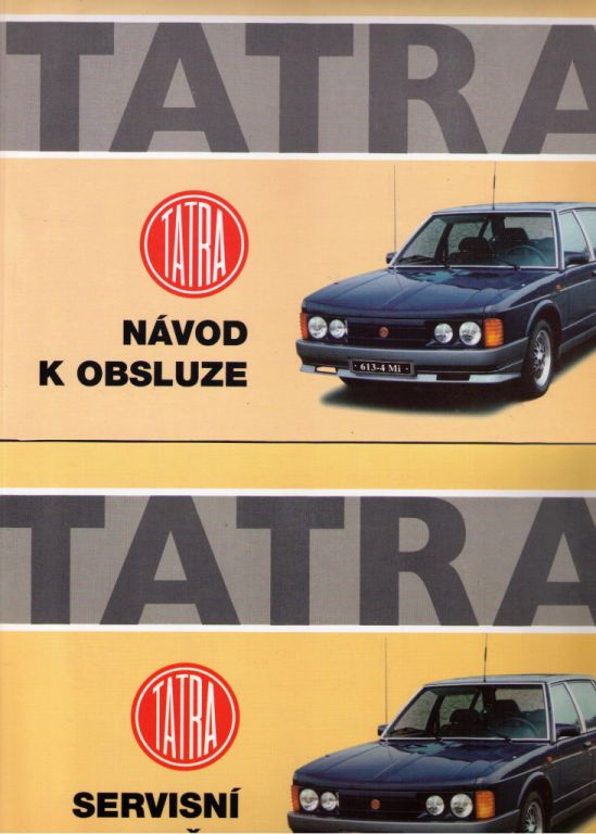 Tatra 613 - Návod k obsluze