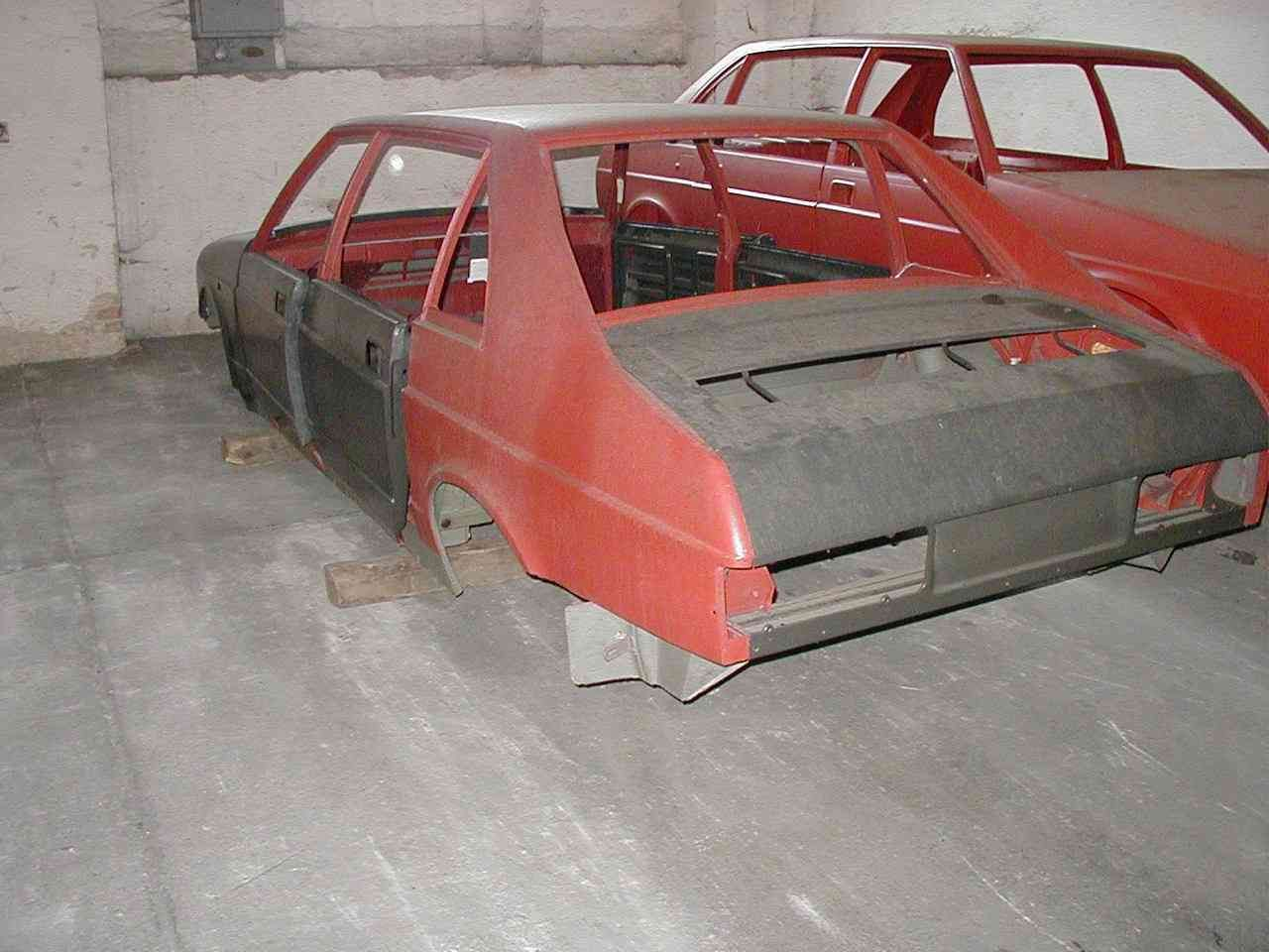 Tatra 700 - Karoserie