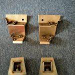 Kaskády zadní nápravnice a uchycení pásů
