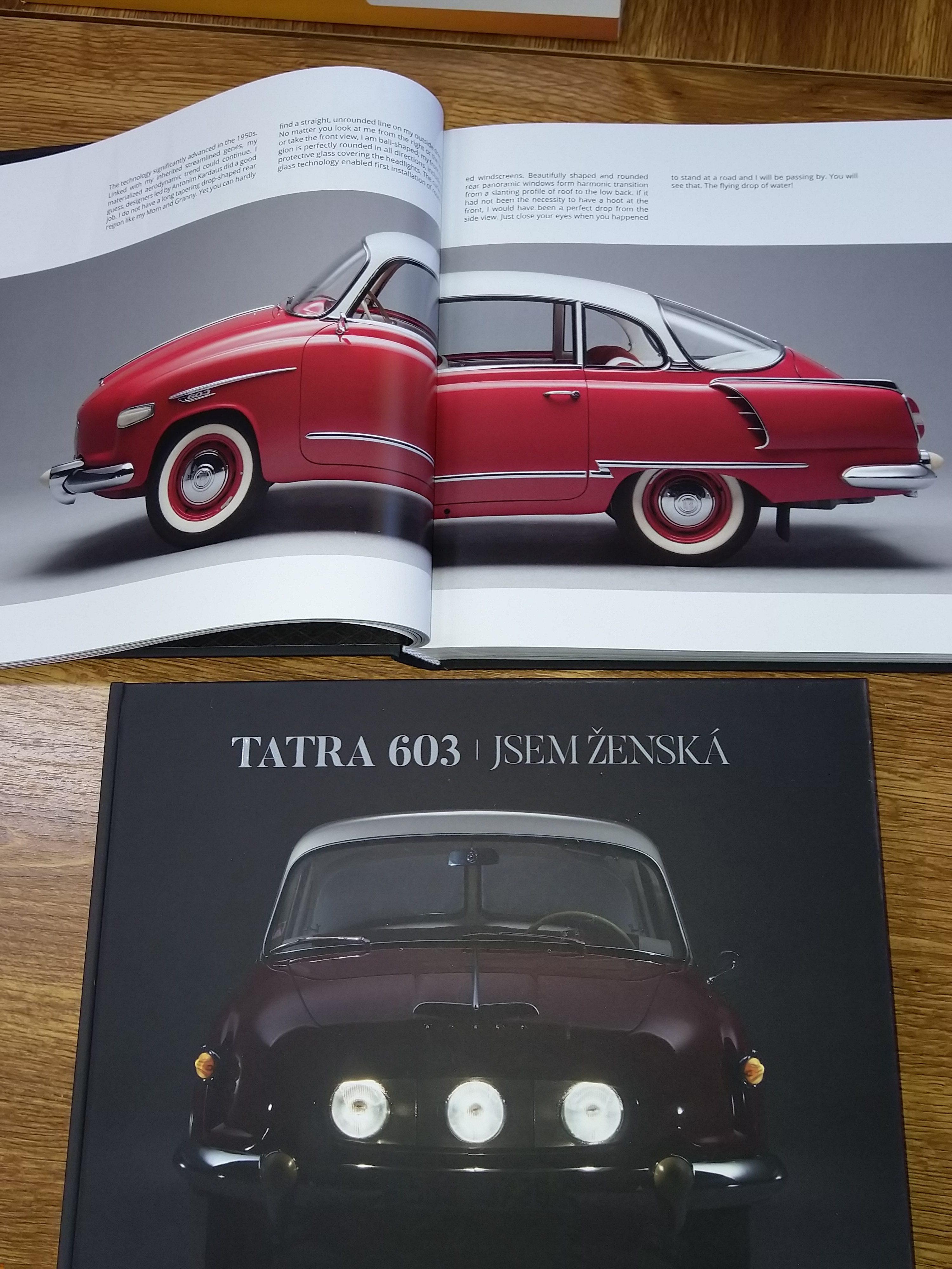 Kniha o vzniku T603 – česká verze